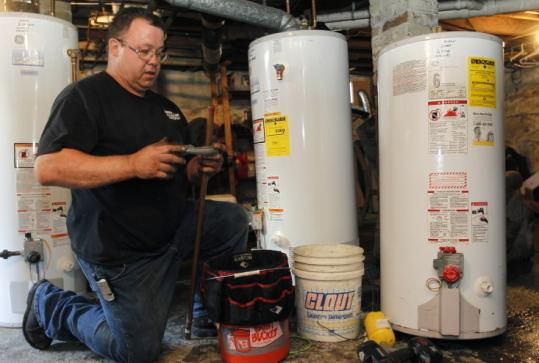 Jim Deramo, who once worked for a Winthrop oil company, started his own business, Jim D & Sons.