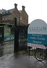 ERROR: Mr Griffiths was working at Edinburgh's Astley Ainslie Hospital