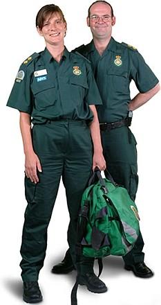 paramedic uniform