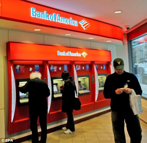 Demands: Bank of America allegedly demanded that the widow hand over cash needed for her husband's funeral