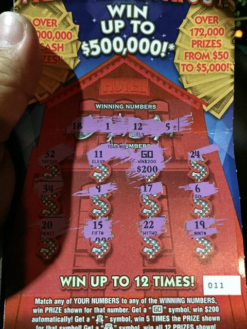 Page 111: Florida Scratch Offs - Post Pictures if posible