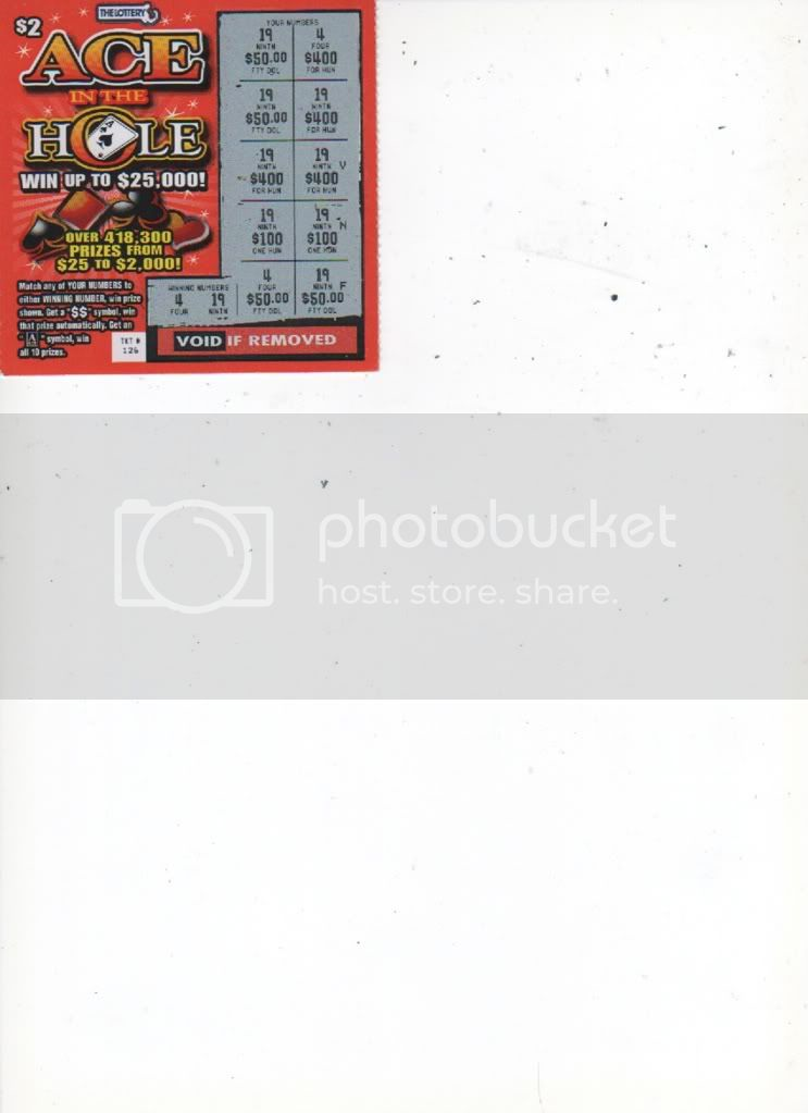 Page 277: Post your scratch ticket results | Lottery Post