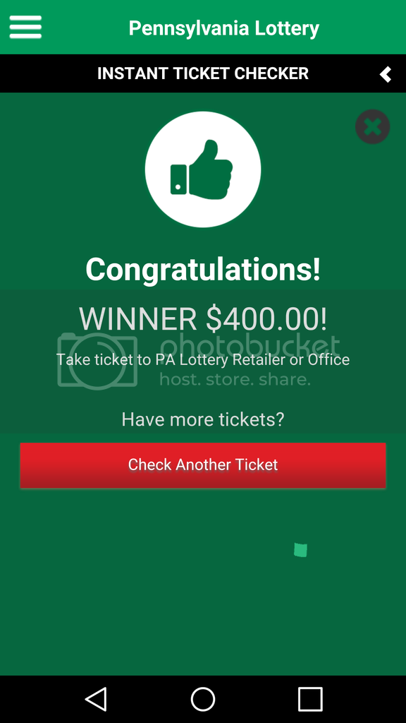 Page 868: Post your scratch ticket results | Lottery Post