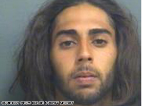Steven Morales, 19, was arrested in the invasion of a Boynton Beach, Florida, home.