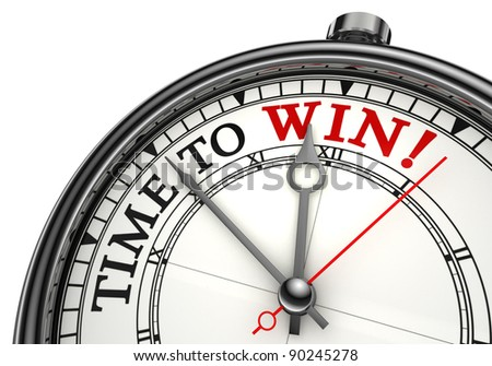 Time to Win Stop Watch Courtesy of Shutterstock