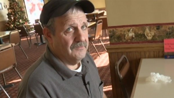 Donny Jones has been a familiar face at the Hometown Kitchen restaurant in Idaho Falls, ID as the head cook, but on Sunday, Jones realized he had won a $200,000 prize from the PowerBall game. (Source: KIFI/KIDK/CNN)