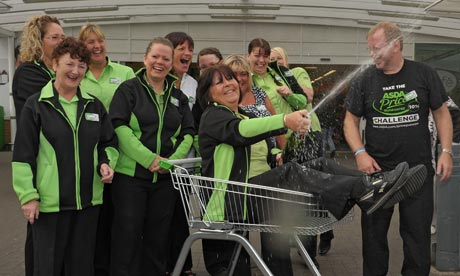 Asda workers from Hyde, Greater Manchester who won £6,873,588 on the National Lottery