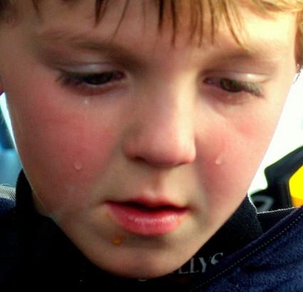 Sad Child - Photo by David Shankbone