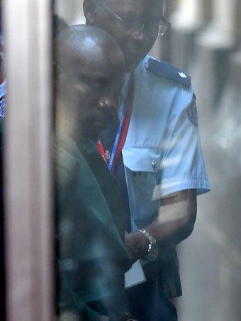 Balenga Kalala escorted to court