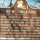 Historic New Orleans sign