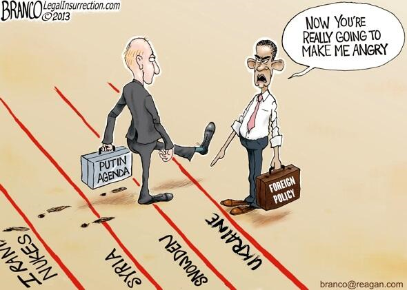 Image result for obama drawing a red line Cartoon