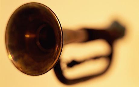 Bugle: Pensioner scares off burglars with a bugle
